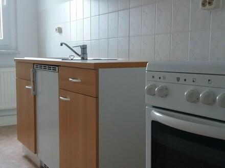 1-Raumwohnung mit Küchenmöbel