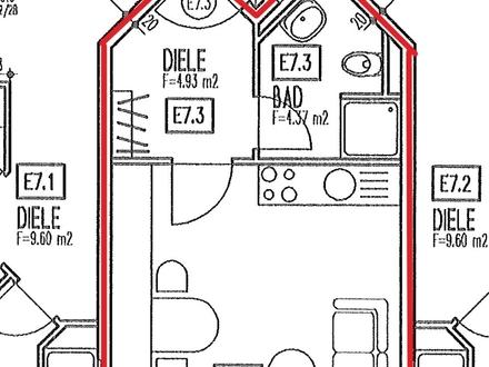 TOP KAPITALANLAGE! Gut vermietetes 1 Zimmer-Appartement im 7.OG mit Aufzug im Scharnhauser Park