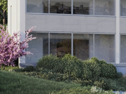 PROVISIONSFREI* - 2-Zimmer-Neubau-ETW mit großem Balkon in Landshut-Achdorf - KfW55