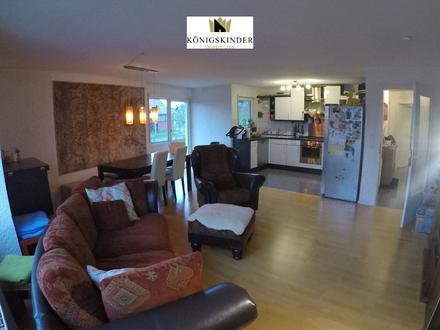 Möblierte und helle 3-Zimmerwohnung mit Garage und Balkon in guter Lage von Wernau