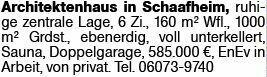Haus in Schaafheim (64850)