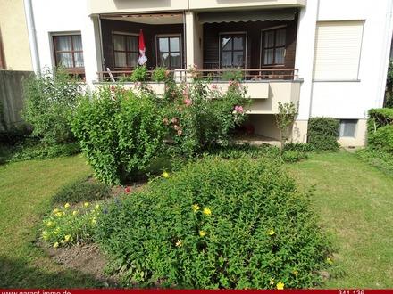 Seltenheit - Erdgeschoss-Wohnung mit Gartennutzung!