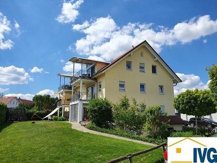Sonnige 4-Zimmer-Ergeschosswohnung mit Keller, TG-Stellplatz und Außenstellplatz in Horgenzell!