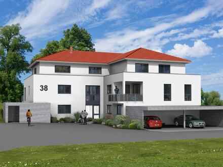 VERKAUFT!! 2. BAUABSCHNITT!! Toll-geschnittene 3-Zimmer-Neubauwohnung mit überdachtem Südbalkon!