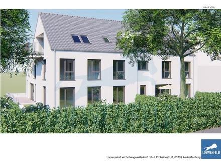 HAIBACH Ortsteil, Lichtdurchflutete Eigentumswohnung mit großem Balkon NEUBAU Ideal für Frankfurt Pendler!