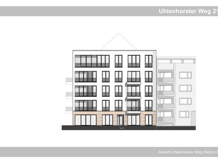 Neubauwohnung im Erdgeschoss mit Garten auf der Uhlenhorst