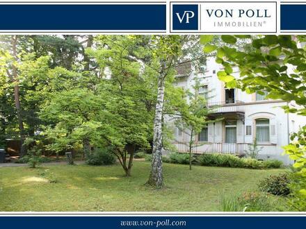 Sanierungsbedürftige Villa mit 1.135 m² Grundstück im Waldvillengebiet Gonsenheim
