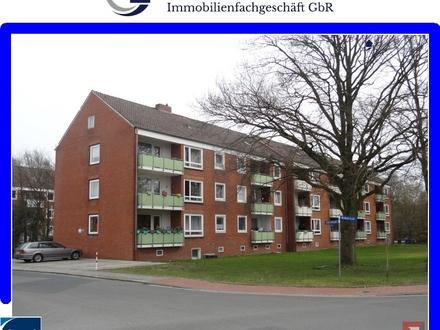 3 Zimmer-Obergeschosswohnung mit Balkon am Stadtrand von Westerstede