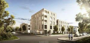 ERSTBEZUG! Neue 2-Zimmer-Wohnung mit 2 Terrassen und Tiefgaragenstellplatz