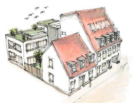 Loftige 3-Zimmer-Maisonette-Wohnung mit großer Dachterrasse - Erstbezug