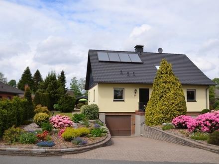 Gepflegtes Familienhaus auf dem Lande