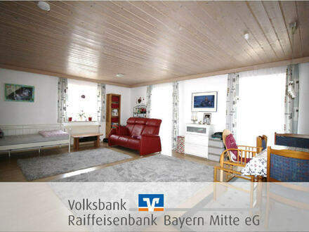 helle 95 m² Wohnung mit Garage, Stellplatz und Küche inkl.