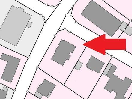Gegen Gebot! Zentraler geht es nicht - Grundstück mit Altbau in Vechta's Innenstadt!
