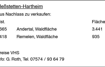 Wohnen in Meßstetten (72469)