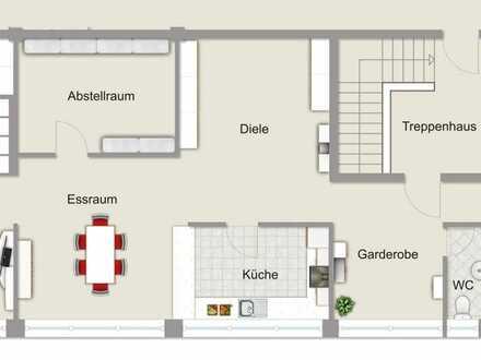 Wohnung und Gewerbe im Herzen von Leidersbach