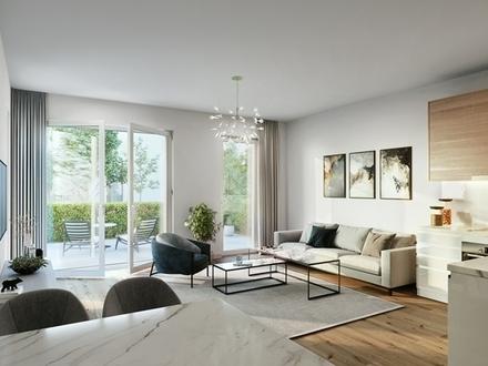 Ostend: Große 4-Zimmer-EG-Wohnung mit zwei Terrassen und ca. 60m² Garten!