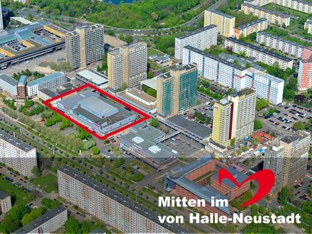 Großraumbüro ab 2.500m² im Herzen von Halle-Neustadt