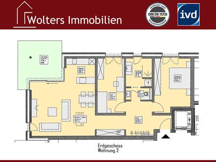 Elegante Erdgeschoss-Neubauwohnung!