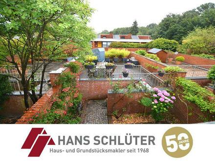 Modernes Reihenmittelhaus mit großer Terrasse in Oberneuland!