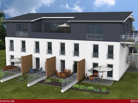 Wohntraum für die junge Familie! Neubau 3-Zimmer-Wohnung mit Reihenhaus-Charakter in Hochburg-Ach