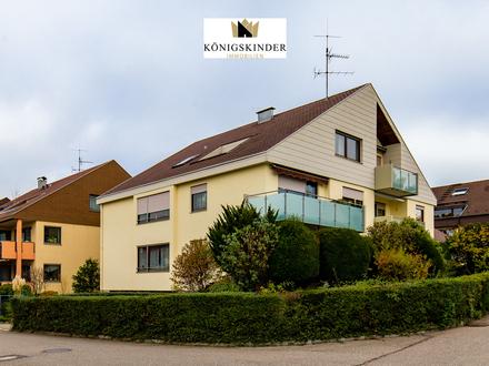 Moderne 3,5 Zimmerwohnung mit Gartenanteil & Hobbyraum in begehrter Lage