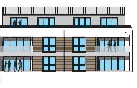 Nähe Schlosspark! Obergeschosswohnung mit Balkon im Neubau, KfW-55 Haus, Aufzug, Erdwärme