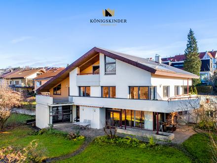 Einzigartiges Zweifamilienhaus in beeindruckender Lage mit großzügigem Raumangebot