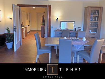 Meppen-Esterfeld: 4-Zimmer-Wohnung im 1. OG, 113 qm, Einbauküche, Balkon, Keller, Stellplatz uvm.!