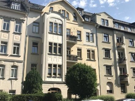 4 Zimmer Familienwohnung mit Balkon und Garten ++ Kaßberg