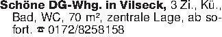 Schöne DG-Whg. in Vilseck, 3 Z...