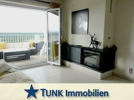 Traumhafte Penthouse-Wohnung im HÖCHSTEN HAUS in Unterfranken