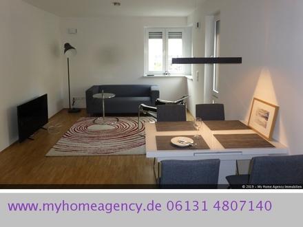 Erstbezug, modern und Stilvoll möblierte 2,5 Zimmer Wohnung in Mainz- Neustadt.