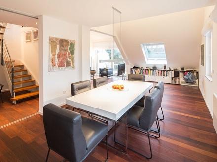 Penthouseflair in Bestlage - Klimatisierte Traumwohnung mit Lift, 3 Terrassen, EBK und TG!