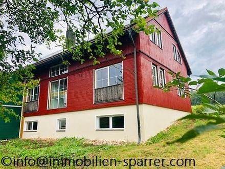 Idyllisch gelegene Doppelhaushälfte mit Garten und Garage in Enzenrieth