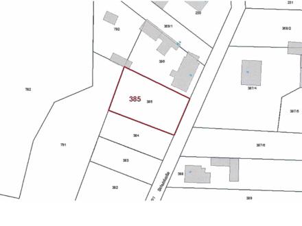 Grundstück (laut Flächennutzungsplan ´Allgemeine Wohngebiete´) etwa 33 km von Cottbus entfernt