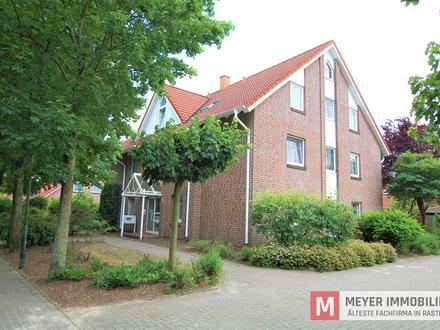 Gepflegte OG-Wohnung in ruhiger Wohnlage von Wiefelstede (Objekt Nr.: 5781)