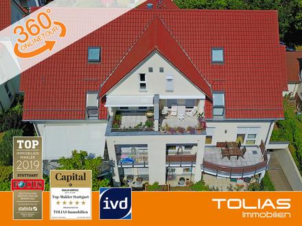 Wohnparadies am Park! Premium 4,5-Zimmer-Dachgeschoss-Maisonette-Wohnung in Bestlage