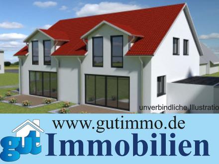 """Bad Boll:"""" Wohnen in herrlicher Randlage zu Obstwiesen."""" Moderne und sonnige Doppelhaushälften!"""