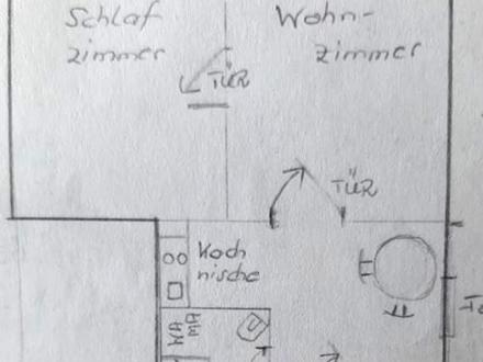 Sonnige 2,5 ZD-Einliegerwohnung (EG) in 2-Parteienhaus