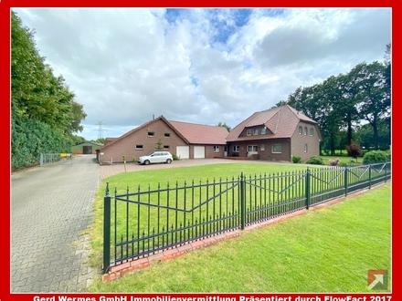 Resthof mit ca. 2,5 ha Grundstück in Dersum zu verkaufen!