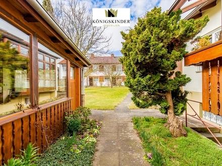 ALTDORF: Einfamilienhaus mit großem Garten, Garage und Carport