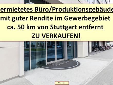 Vermietetes und modernes Büro/Produktionsgebäude zu verkaufen!