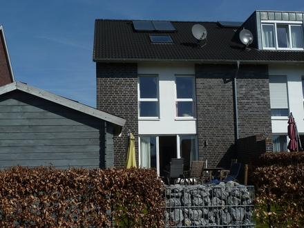 Energiesparsames modernes Reihenendhaus in guter Infrastruktur mit schönem Garten