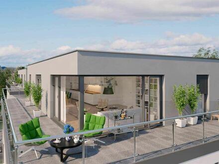 Energieeffiziente Penthouse-Wohnung mit Weitblick