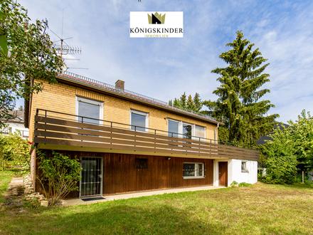 Freistehendes Einfamilienhaus auf 600 m² Grund mit Garage und großem Garten, ideal für Familien