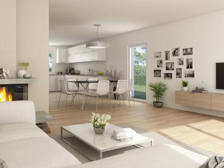 Durchdacht geplantes Doppelhaus für moderne Ansprüche in grüner Umgebung