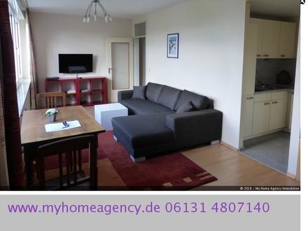 Freundlich möbliertes 1-Zimmer-Apartment in MAINZ Altstadtlage ''Am Brand/ Quintinsstraße.