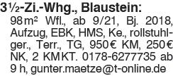 Wohnung Blaustein: