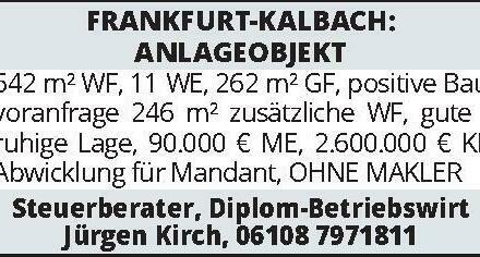 FRANKFURT-KALBACH