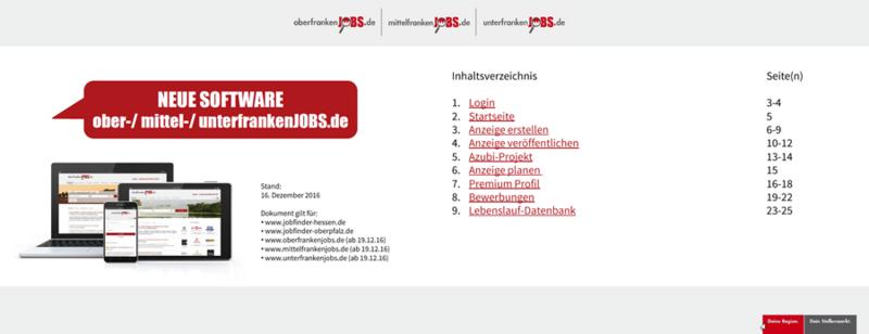 PDF-Guide Jobportale
